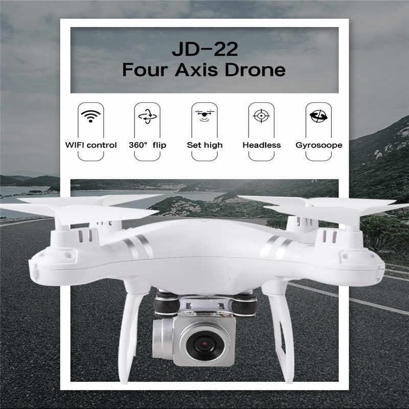 JD22 360R HD 1080 P WIFI FPV Selfie Drone RC Camera Drone Chuyên Nghiệp Có Thể Gấp Gọn Mini Drone Rộng Thiên Thần Máy Bay Trực Thăng