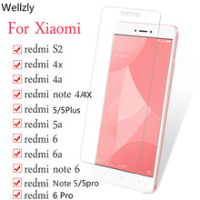 Protective Glass On The For Xiaomi Redmi 4X 5A 6A S2 5Plus note 4 6 5 Screen Protector for Redmi Note 5 4X 6 Pro Tempered Glass protective glass for xiaomi redmi 4x glass on xiaomi redmi note 5 glass tempered screen protector for redmi 5 plus note 5a 5pro