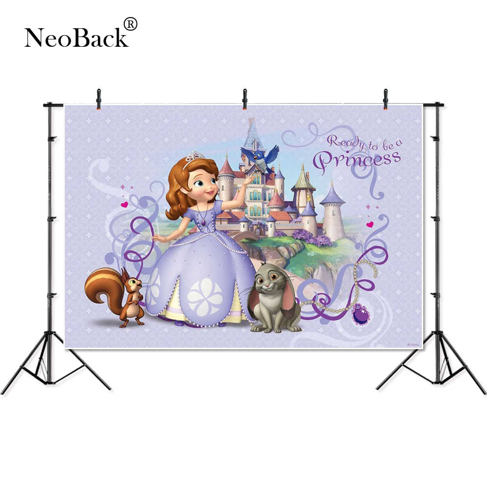 Vinil fino sofia princesa palácio coelho pássaro banner personalizado fotografia fundos profissional interior estúdio foto backdrops