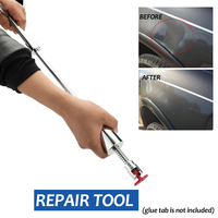 Car Body Paintless Dent Lifter Car Repair Dent Puller Hand Tool Set Metal T Bar Puller Slide Hammer Romoval Tools Kit