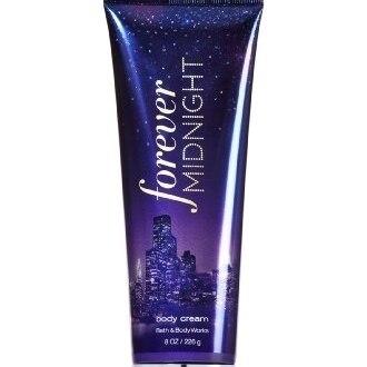 Bath & Body Works Forever Midnight Body Cream 8oz Perfumed