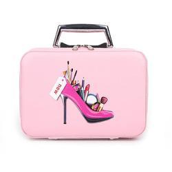 Новая косметичка для девочек, Большая вместительная двухслойная Милая мультяшная сумка для девочек, Женская дорожная уличная модная косме...