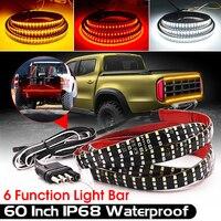 60 Truck Tailgate Light Bar Waterproof 432 Led Tailgate Strip Light Reverse Taillight Brake Stop Turn Signal Warning Light