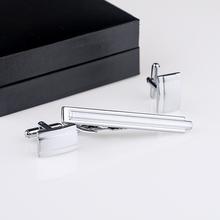 Free Shipping Cufflinks And Tie Clips Set Classic Designs Copper Material Men Tie Bar Cuff links Wholesale&retail QiQiWu CT-1009 цены онлайн