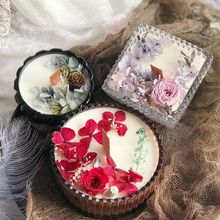 Candle Eternal Life Flower Dried Flowers Essential Oil Soybean Lover Boxing Things Women's Day Queen Section Goddess