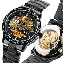 Steel Hadiah Automatic-Self-Winding Watch