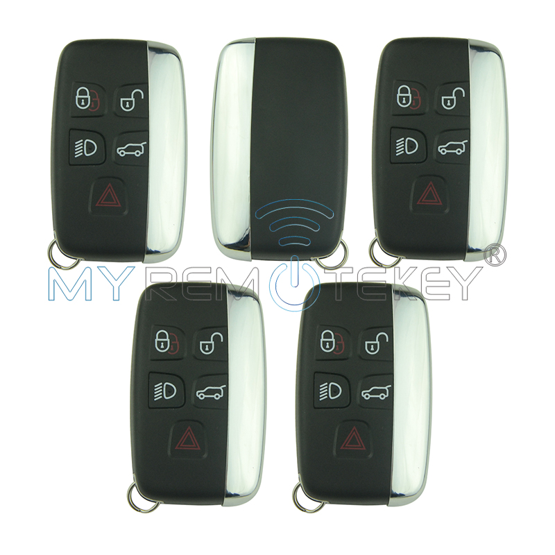 Remtekey 5pcs Smart car key PCF7953 433 mhz KOBJTF10A for Landrover Freelander Discovery for Range Rover