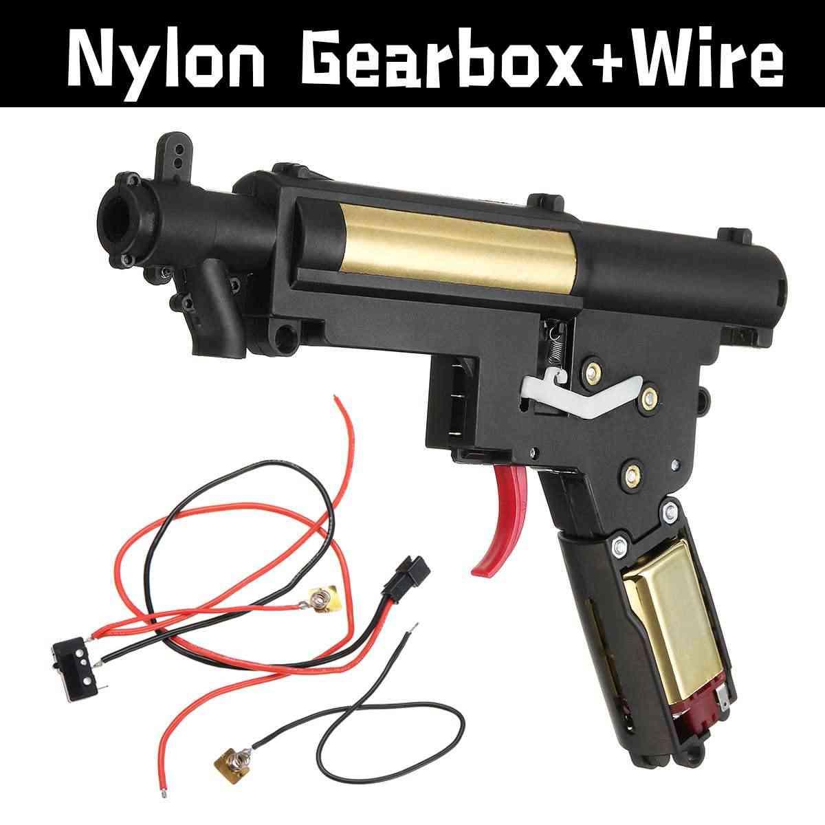 Обновление нейлоновая коробка передач провод для JinMing M4A1 Gen8 шрам V2 MP5 игра водный гель мяч бластеры игрушки пистолеты Замена аксессуары