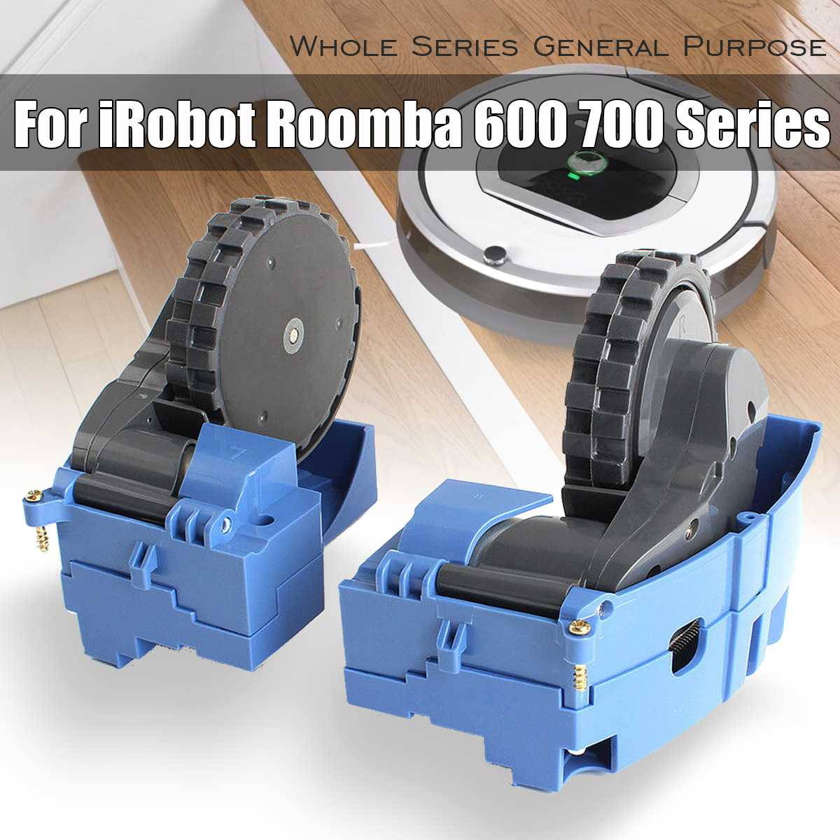 2Pcs Motor wheel motor  replacements for irobots Roombas 529 595 650 780 880 980 series Vacuum Cleaner robot Parts accessories2Pcs Motor wheel motor  replacements for irobots Roombas 529 595 650 780 880 980 series Vacuum Cleaner robot Parts accessories
