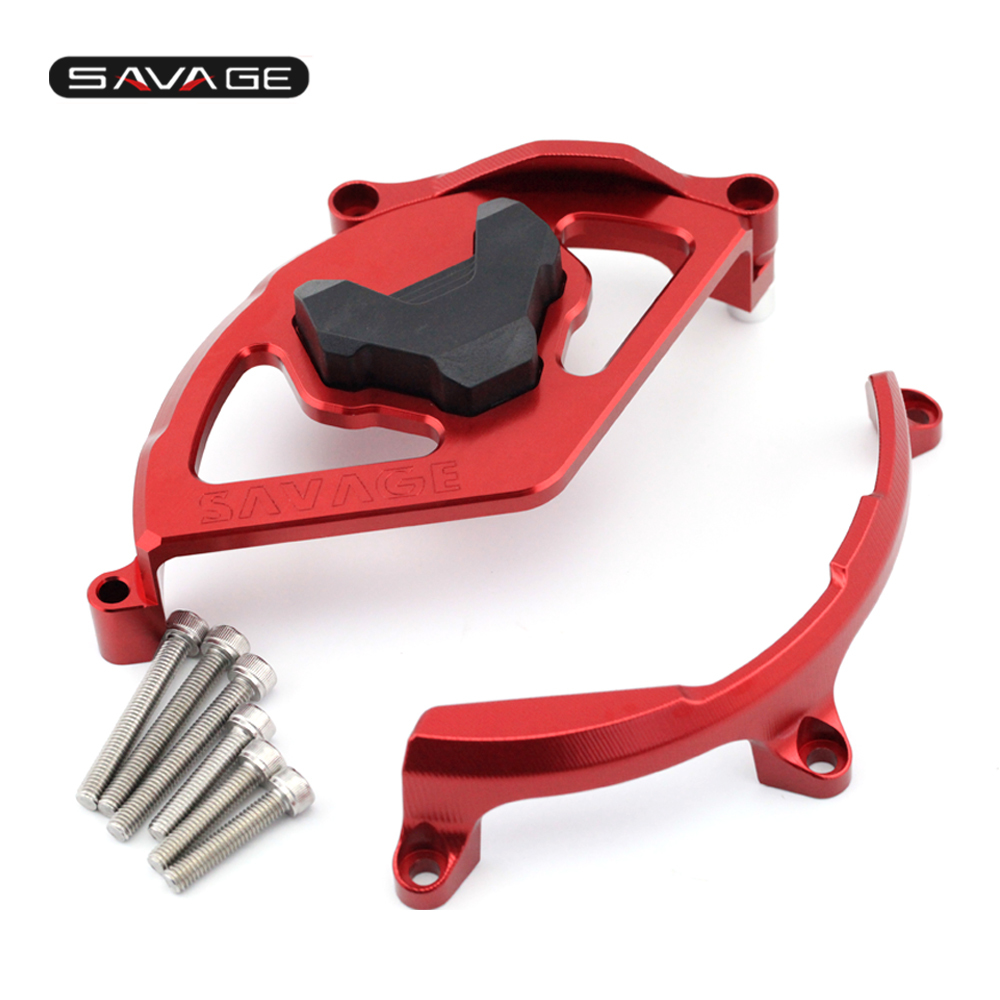Engine Clutch Cover Guard For Ducati 959/1199/1299/s Panigale 2012 2017 Motorcycle Accessories Crash Silder Protector