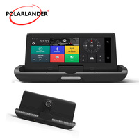 Automatic folding Android 4G navigation reversing one button image integrated machine driving recorder GPS 8 inch