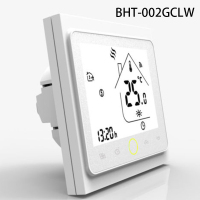1pc WiFi Smart Thermostat for Water Heating/Electric Floor Heating/Gas Boiler