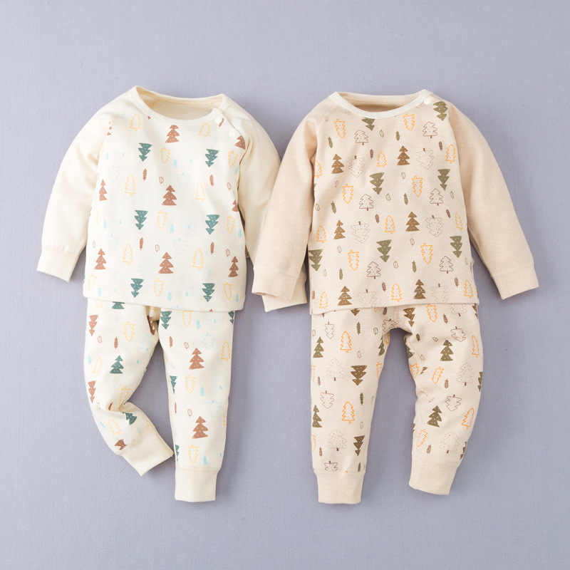 c393f3cec73 Infant Baby Clothes Organic Cotton Baby Set Toddler Newborn Baby Girls Outfits  Clothes Tracksuit Hooded Tops