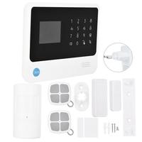 Kit Sistema de alarme GSM WiFi/GPRS/SMS Teclado LEVOU Teclado de Toque de Alarme Home Sistema de Segurança 100 240 V Plugue DA UE|Kits de sistema de alarme| |  -