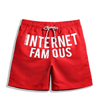2018 Shorts Mens Underwear Board Shorts Summer Swimwear Men Gay Boardshorts Man Beach Shorts Marcelo Burlon Funny Pants 50B0018