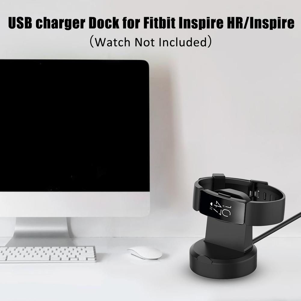 Image 5 - Universal Magnetic Charging Dock USB Charger Cable Cradle Dock For Fitbit Inspire HR / Inspire 51x46x13mm ABS+PC 2019 New-in Smart Accessories from Consumer Electronics