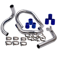 Front Mount Intercooler Piping Kit For VW JETTA GOLF GTI with 1.8L/ 1.8T Turbochaged l4 Engines ONLY 1998 2005