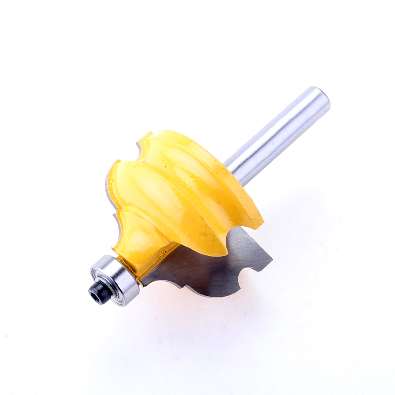 Image 3 - 1PC 8mm Shank Classical & Bead Molding & Edging Router Bit   Tenon Cutter for Woodworking Tools   CHWJW  16127_8-in Milling Cutter from Tools