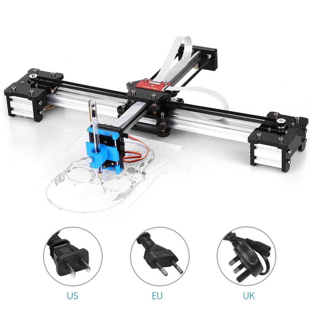Us 138 99 50 Off Desktop Diy Assembled Xy Plotter Pen Drawing Robot Drawing Machine Painting Handwriting Robot Kit 100 240v Plotter In Power Tool