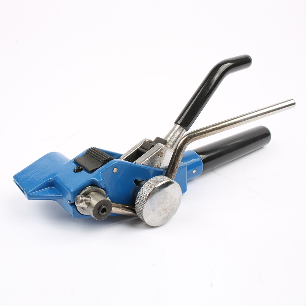 New Cable Tie Gun Stainless Steel Zip Cable Tie plier bundle tool Tensioning Trigger action Cable Gun with Cutter