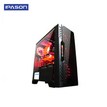 IPASON A5 Gaming PC AMD Ryzen5 2400G DDR4 4G 8G RAM 120G+1T SSD/gaming card 1050TI Desktop Computer(China)