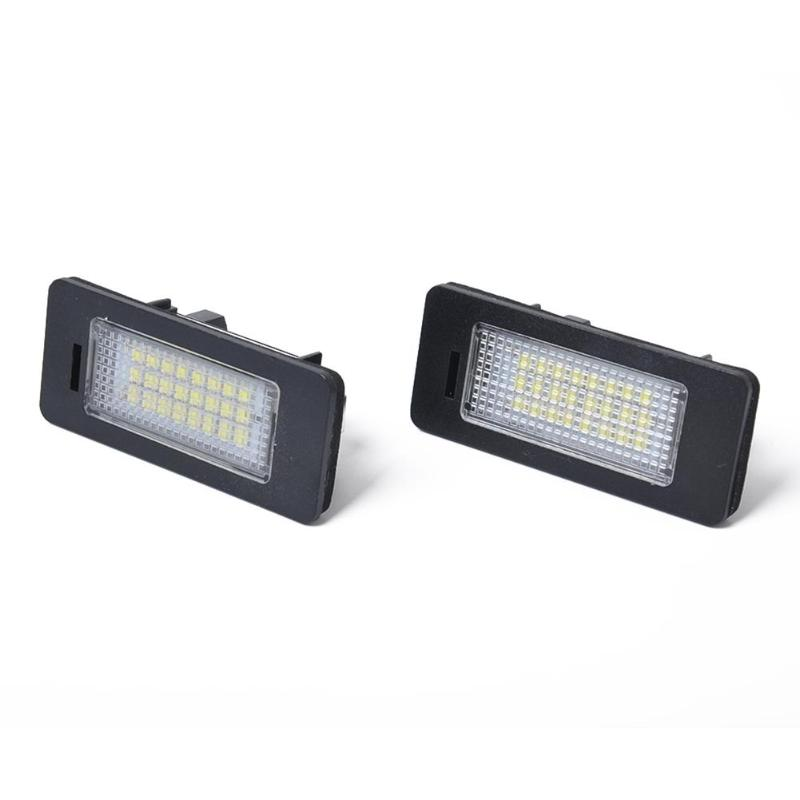 Automobiles & Motorcycles Light Bar/work Light Just 1 Pair Led License Number Plate Light 2.8w 6500k License Plate Lighting For Bmw 1/3/5 Series E39 E82 E92 E93 E81 E87 E85 E86 Top Watermelons