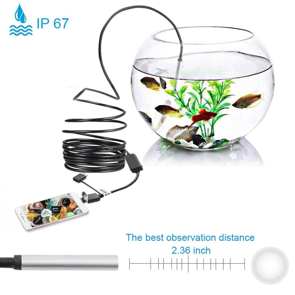 Werkzeuge 3-in-1 20 M Ip67 Wasserdichte Endoskop Inspektion Endoskop Kamera Hd 5,5mm Eingebaute 6 Einstellbare Led Lichter SpäTester Style-Online-Verkauf Von 2019 50%