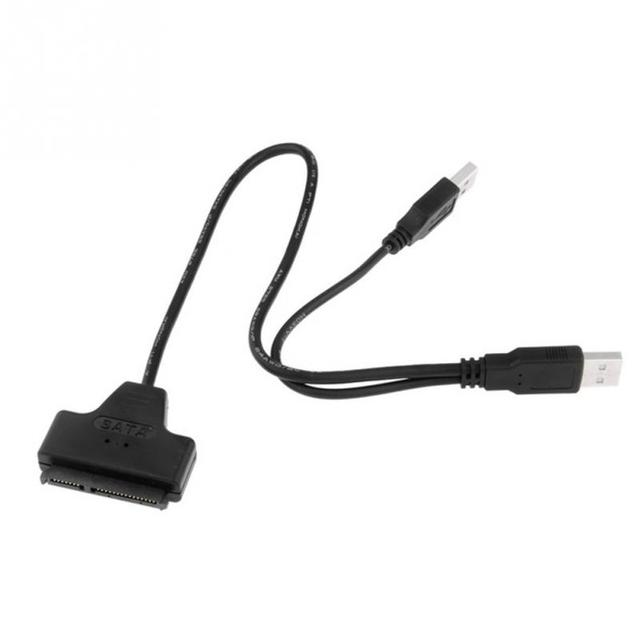 New USB 2.0 To IDE SATA Converter Cables Three-used 2.5 inch Hard Drive HD HDD Adapter Connector UK Electronics Accessories