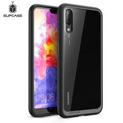 Dla Huawei P20 Case 5.8 cala SUPCASE UB Style Series Anti-knock Premium Hybrid ochronne etui typu bumper z tpu + PC wyczyść Back Cover Case