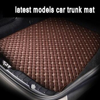 ZHAOYANHUA esteras para maletero de coche de ajuste personalizado para Mitsubishi Outlander Pajero V73 V93 V97 Sport ASX Lancer Galant, Alfombra de estilo de coche