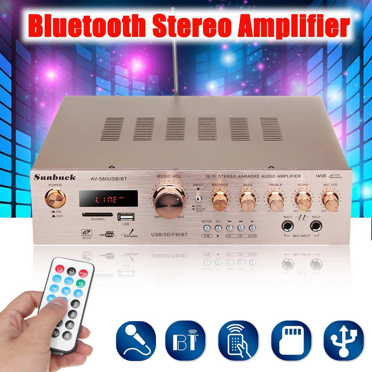 920W 220V 5CH bluetooth HiFi Stereo AV Surround Amplifier FM Karaoke Cinema Home Theater Amplifiers Home Amplifiers920W 220V 5CH bluetooth HiFi Stereo AV Surround Amplifier FM Karaoke Cinema Home Theater Amplifiers Home Amplifiers