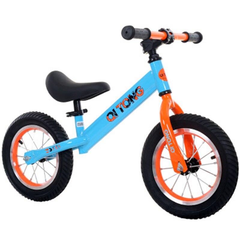 Детский горный велосипед детский баланс автомобиля без педали портативный Детский самокат От 2 до 6 лет скорость унисекс безопасность детский велосипед езда игрушки - 3
