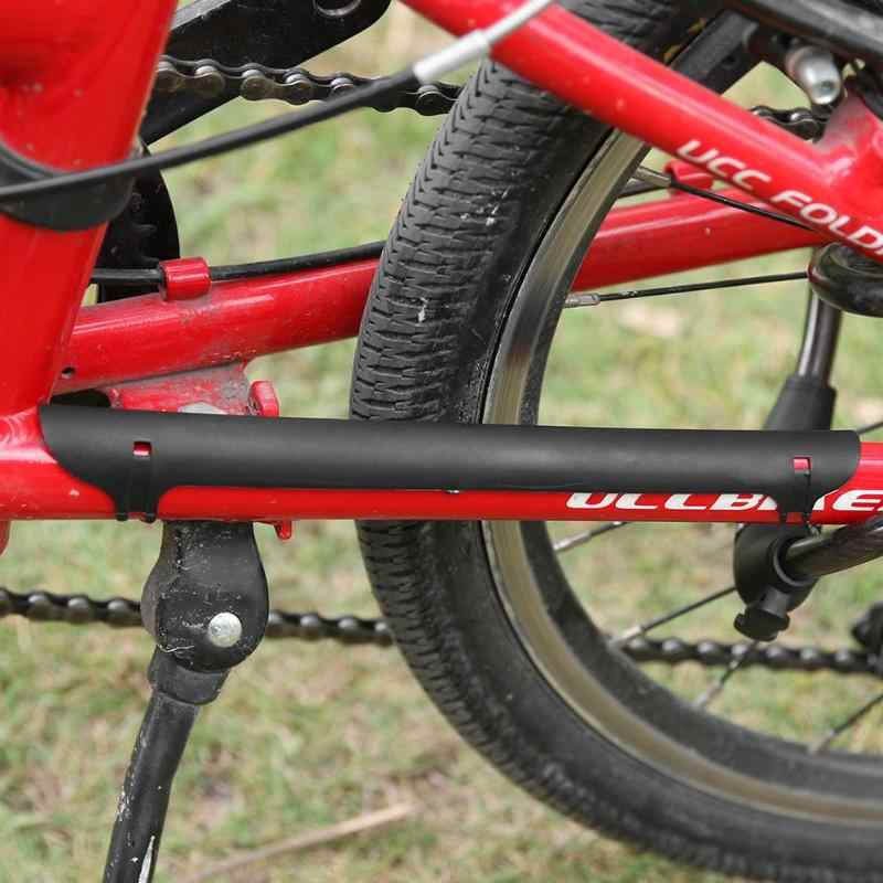 Bicicleta de estrada mountain bike proteção quadro ciclismo bicicleta corrente ficar postado protetor acessórios ciclismo 5 cor