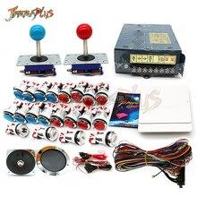 JAMMA Аркады MAME DIY набор для 1660 в 1 игровая доска 4/8 позиционный джойстик хромированный кнопочный провод жгут блок питания динамик
