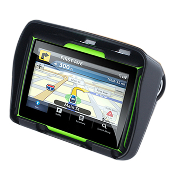 Updated 256M Ram 8Gb Flash 4.3 Inch Moto Gps Navigator Waterproof Bluetooth Motorcycle Gps Car Navigation