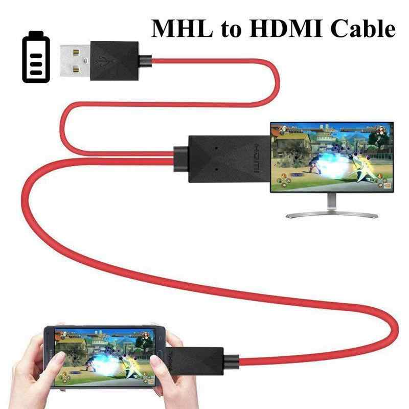 EastVita MHL to HDMI Adapter Micro USB to HDMI 1080P HD TV Cable Adapters for Samsung S3 S4 S5 note2 3 4 Android Phone 11PIN