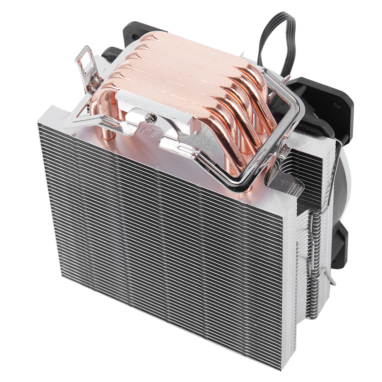 Image 4 - Кулер для процессора с изображением снеговика 4PIN, 6 тепловых  труб, один RGB светодиодный вентилятор охлаждения 12 см, вентилятор  LGA775 1151 115x1366, Поддержка Intel AMDКулеры/вентиляторы/системы  охлаждения
