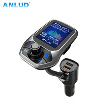ANLUD カラー画面の Fm 送信機ワイヤレス Bluetooth カーキット(China)