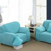 Stretchy Chair Loveseat Sofa Cover Pure Slipcover Cushion Sofa Case Anti dust Sofa Wrap Pet Hair Dust Damage Protector 32