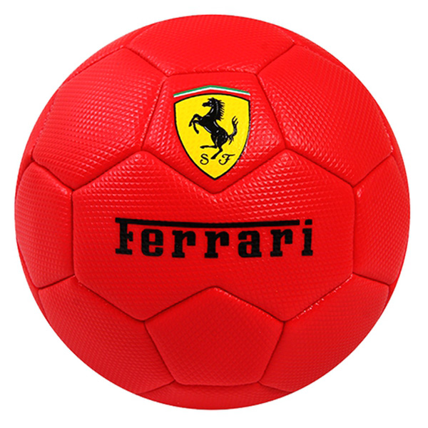 FERRARI High-Quality PVC Rubber Surface Soccer Ball Machine Sewing High Rebound Training Soccer Ball Toy Sports Outdoor Toys