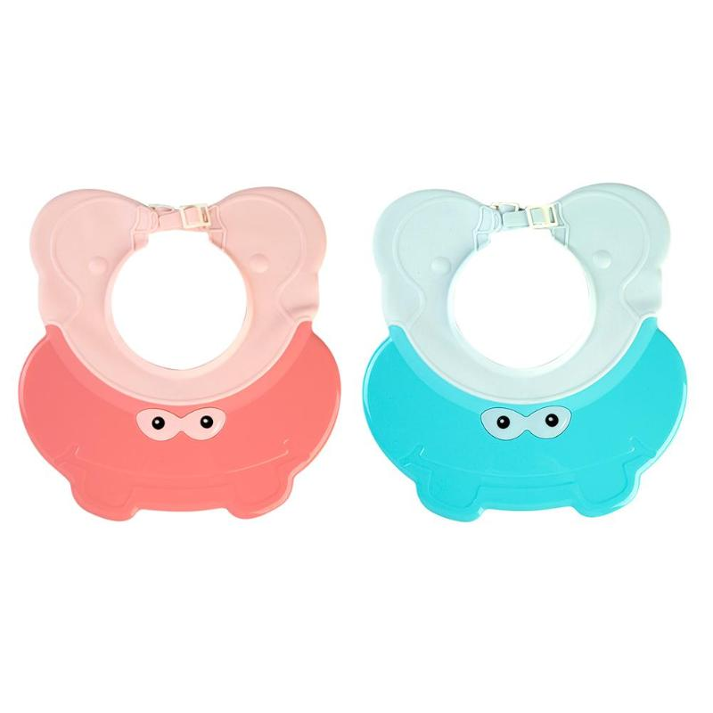 2colors Baby Shampoo Cap Elastic Baby Shower Caps Adjustable Bath Wash Hair Shield Hat For Shampoo/sunshade And Hairdressing Suitable For Men And Women Of All Ages In All Seasons Furniture