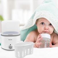 Baby Double Bottle Warmer Multi functional Kid Milk Food Heater Steam Sterilizer Hot Milk Bottle Sterilizer Double Bottle Heater