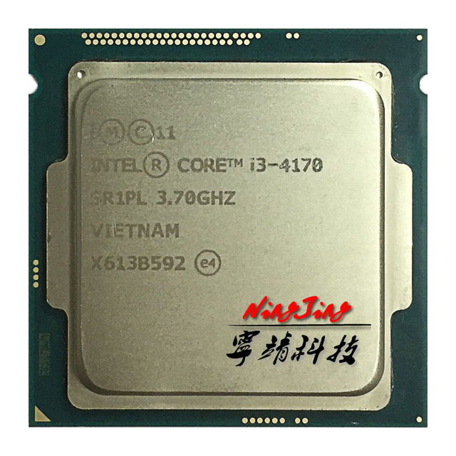 Intel Core i3 4170 i3 4170 3.7 GHz Dual Core Bộ Vi Xử Lý 3M 54W LGA 1150
