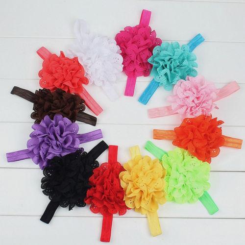 2019 Newborn Infant Kids Girl Baby Headband Toddler Bow Flower Hair Band   Headwear   Accessories Princess Casual Fashion New Sale