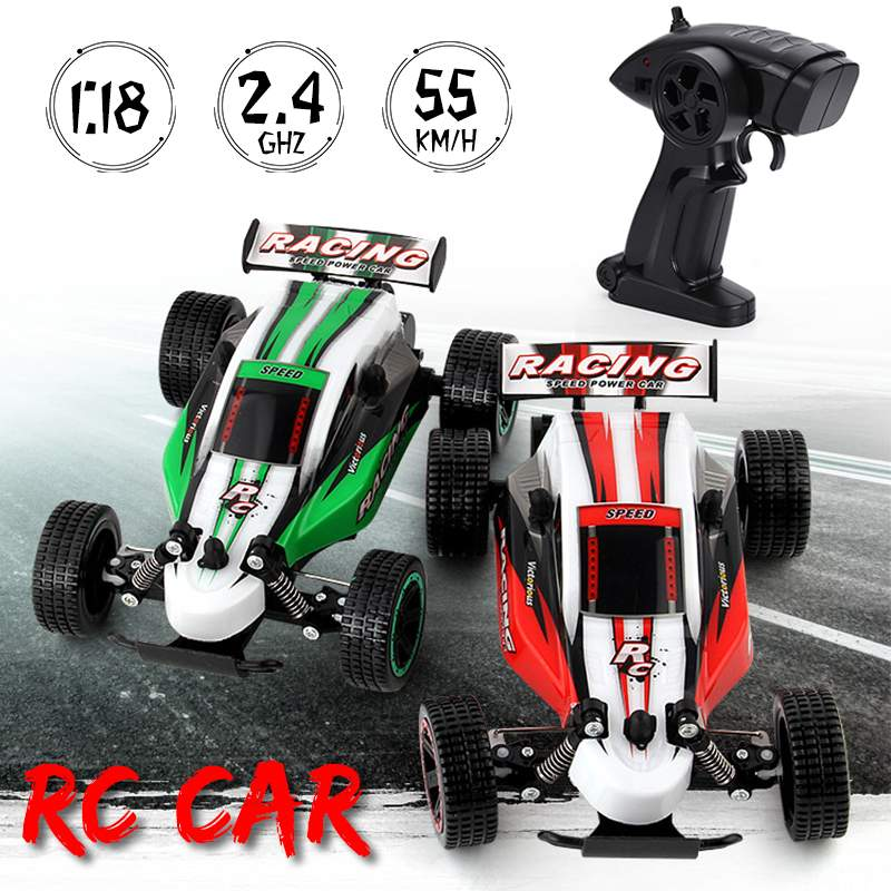 1:18 Scale RC Racing Car 2.4G 4WD Electric Remote Motor Toy Kids Boy Child Gift High Speed Road Vehicle Climbing Electric Car1:18 Scale RC Racing Car 2.4G 4WD Electric Remote Motor Toy Kids Boy Child Gift High Speed Road Vehicle Climbing Electric Car