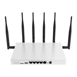 Image 5 - Router wifi lte 4g 3g với sim khe cắm thẻ ăng ten bên ngoài 11AC 1000 Mbps 5G băng tần kép repeater lưới bao gồm 130 mét vuông