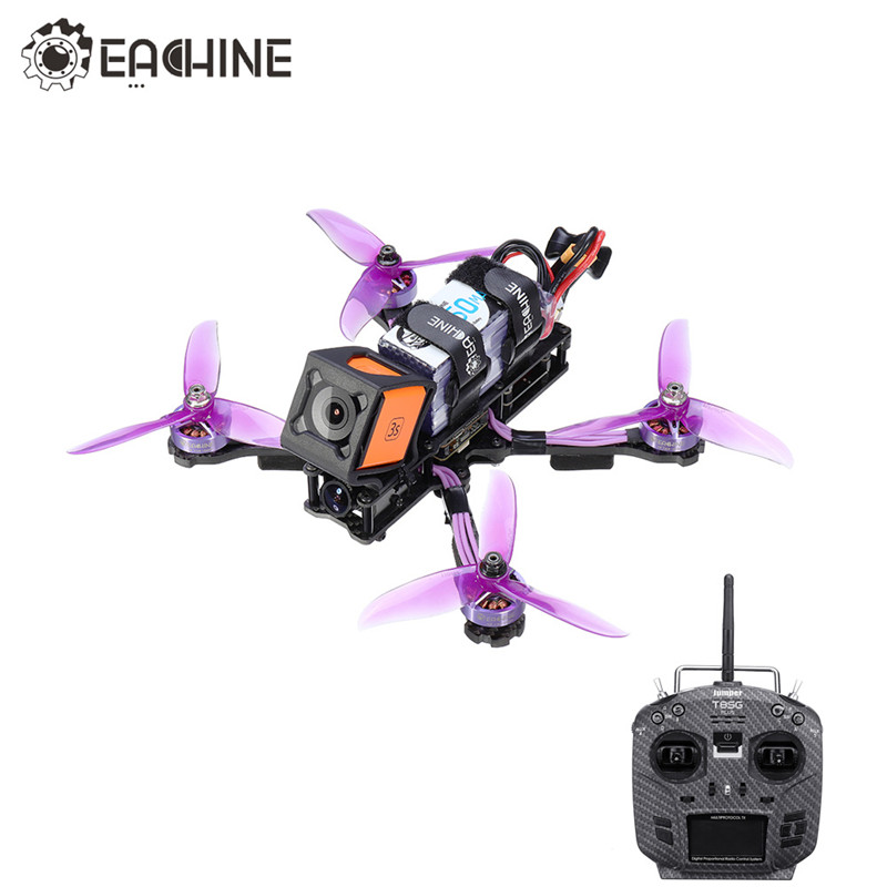 Eachine Wizard X220HV 6S RC FPV Racing Drone F4 OSD 600mW Foxeer Camera w/ Jumper T8SG V2.0 Plus Transmitter Mode2 RC Quadcopter
