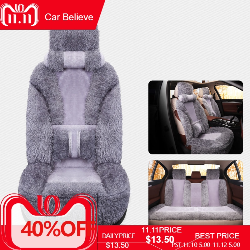 Car Believe car seat cover For kia ceed 2017 cerato k3 sportage 3 rio 4 soul sorento spectra accessories covers for vehicle seat for kia rio sportage ceed cerato soul red black waterproof soft pu leather car seat covers brand design front