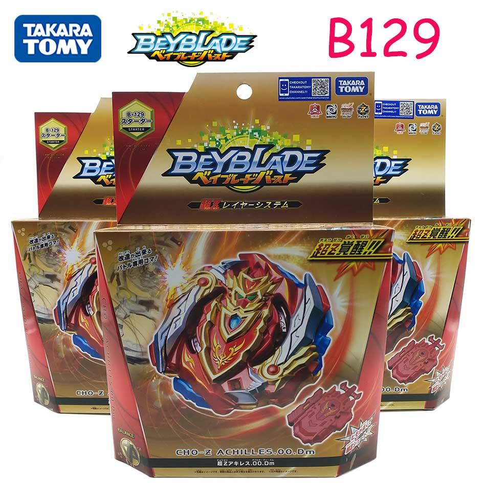 Original Takara Tomy Beyblade Burst B-139 Explosive Gyroscope Super Z Warrior Achilles Battle Hegemony Gyroscope B128 B127 B122