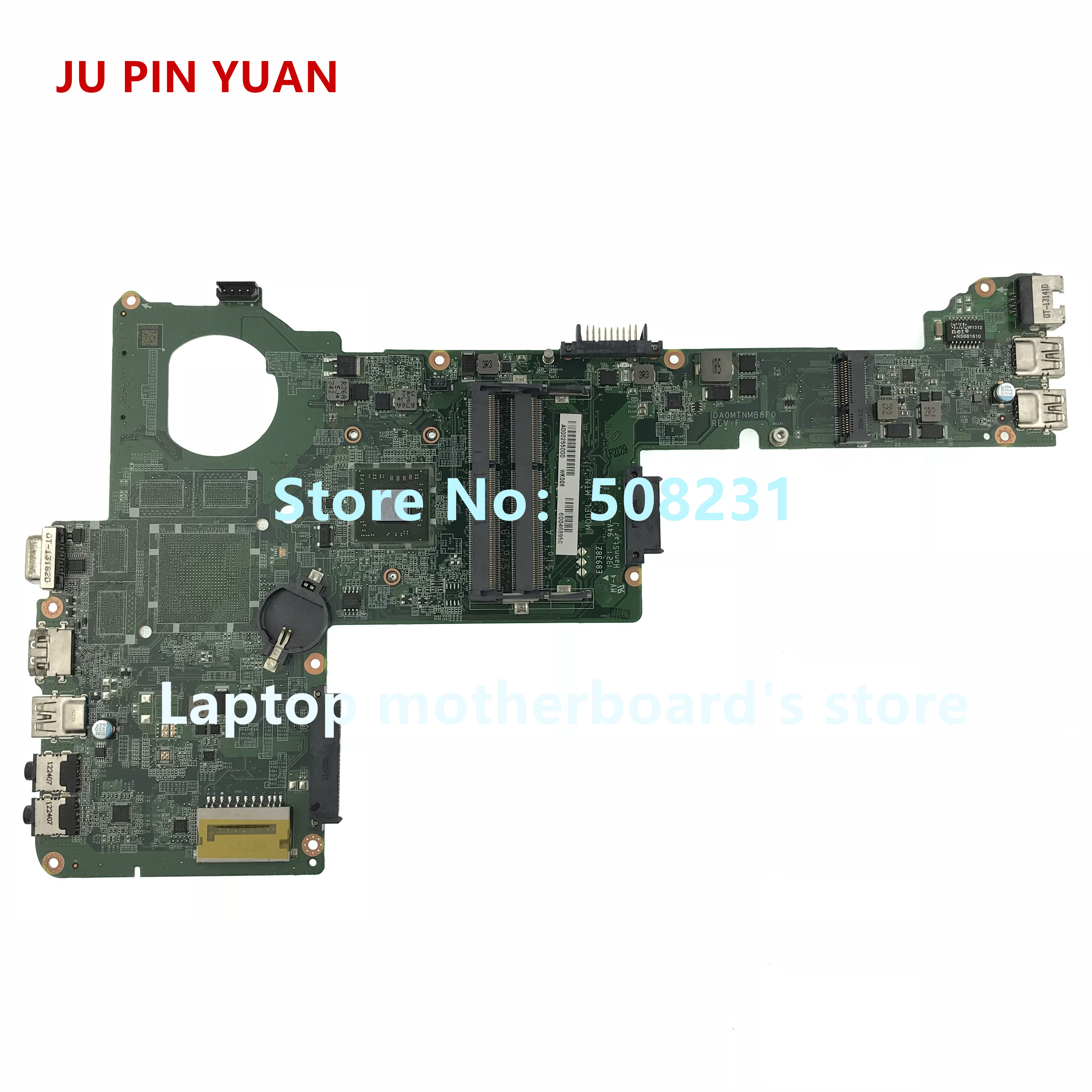JU PIN YUAN A000255000 DA0MTNMB8F0 For Toshiba Satellite C40D C40D-A motherboard with A4-5000 CPU All functions fully TestedJU PIN YUAN A000255000 DA0MTNMB8F0 For Toshiba Satellite C40D C40D-A motherboard with A4-5000 CPU All functions fully Tested
